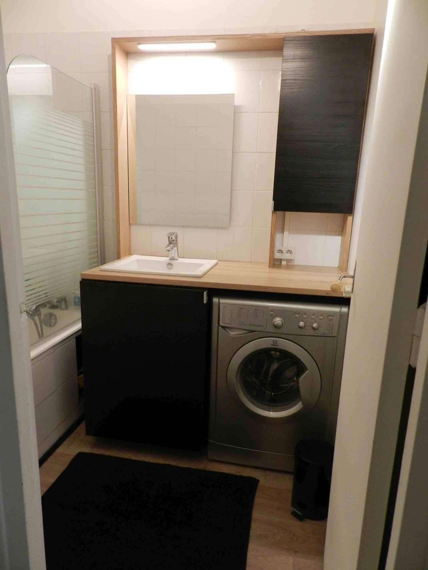 amenager petite salle de bain pas cher baty 39 r le bois. Black Bedroom Furniture Sets. Home Design Ideas